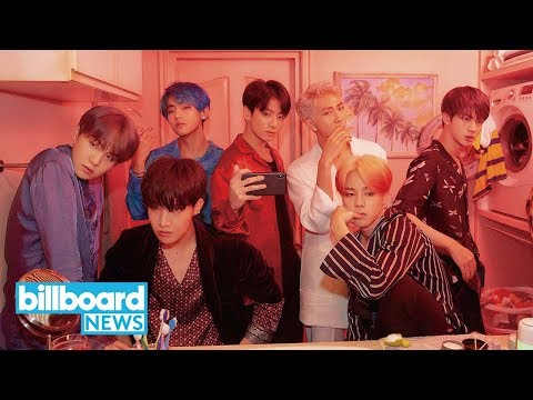 "BTS Break YouTube Record With ""Boy With Luv"" Feat. Halsey Music Video 