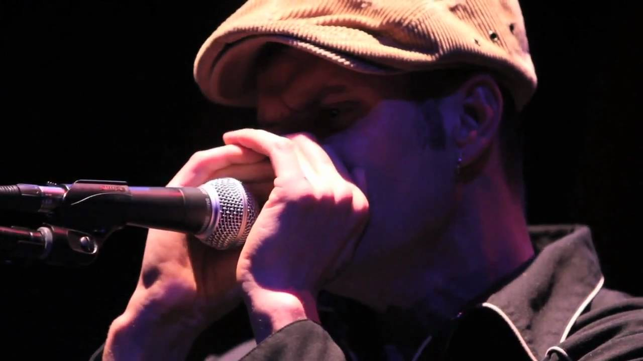 Amazing Harmonica Solo intro by Tom Walbank and John Hardy by Mark Growden