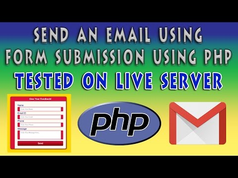 Send An Email On Form Submission Using PHP   Contact Form Using HTML5 & CSS3   Part 2