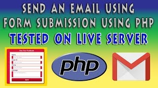 send an email on form submission using php   contact form using html5 css3   part 2