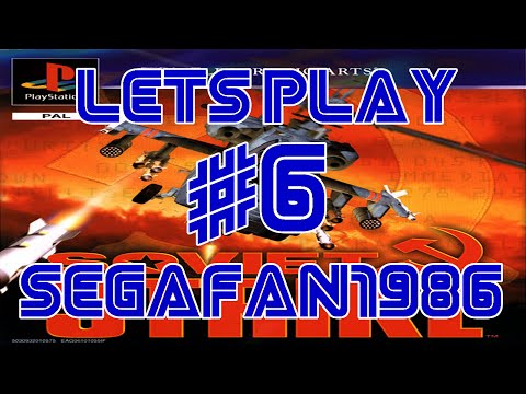 Lets Play Soviet Strike (PS1)  Campaign 3: Caspian B