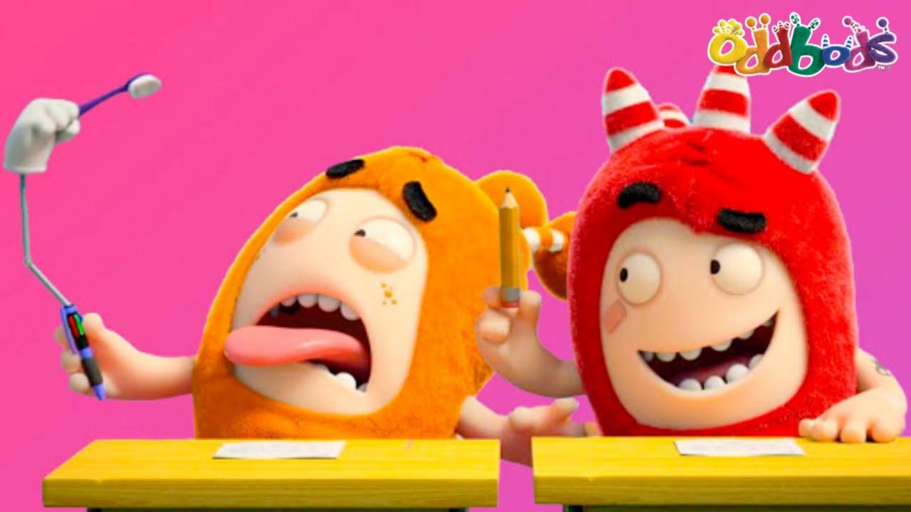 Oddbods | NEW | Fond School Memories | Funny Cartoons For Kids