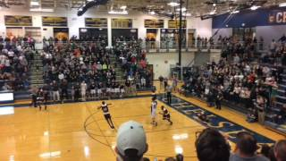 Watch River Rouge celebrate after earning its first trip to the Breslin Center since 1999