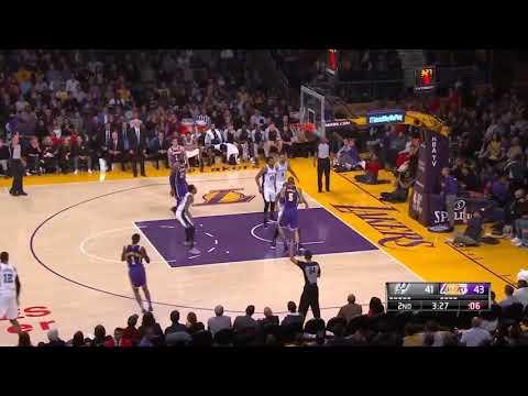 RESUMEN COMPLETO | Los Angeles Lakers vs San Antonio Spurs | Temporada NBA | 6-12-2018