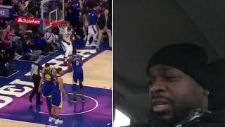Ben Simmons posts a near triple-double (23 PTS, 12 ASTS, 8 REBS) for the Philadelphia 76ers!REACTION