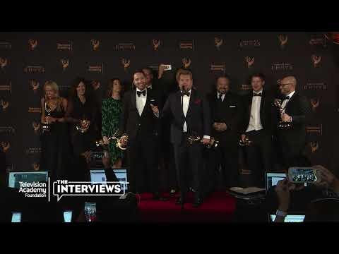 "Emmy winner James Corden on ""Carpool Karaoke Primetime Special 2017"" —2017 Creative Arts Emmys"