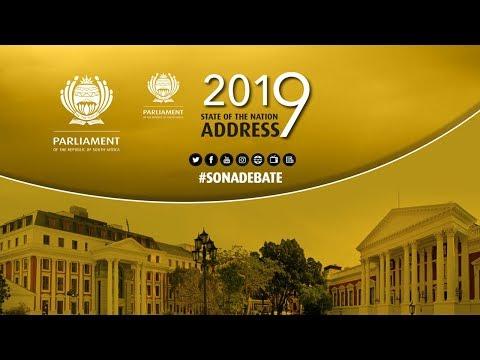 JOINT SITTING : Debate on President's SONA Address, 13 February 2019