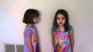 Twin 4 year olds doing Gotye- Somebody that i used to know