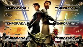Star Wars - The Clone Wars Latino [HDTV Todas las Temporadas] (MEGA)