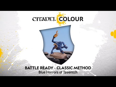How to Paint: Battle Ready Blue Horrors of Tzeentch – Classic Method