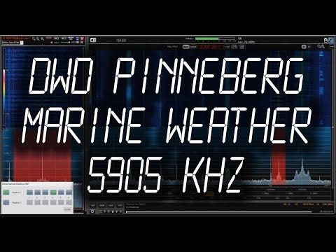 DWD Pinneberg, Germany - (Voice) Weather Marine Broadcast - 5905 kHz
