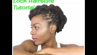 Twist Me Up: A Summer Lock Hairstyle Tutorial/Jungle Barbie