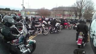 Paul Hayde's funeral.
