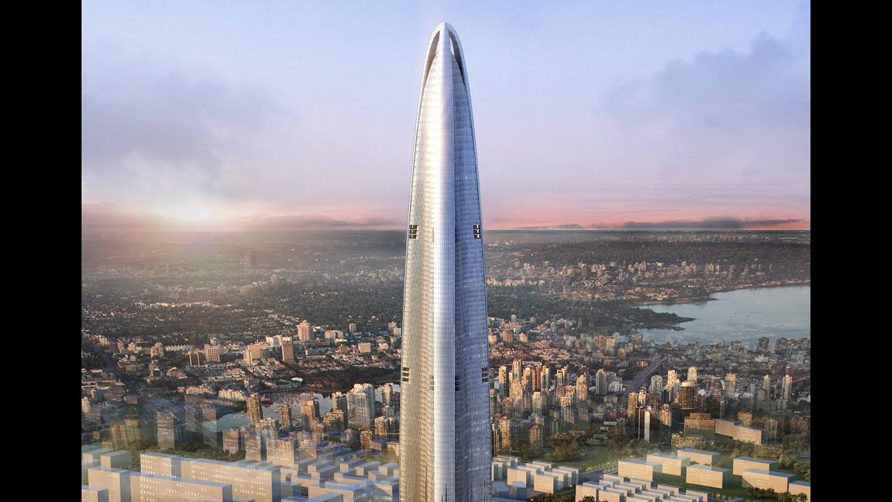 Top 10 tallest buildings in the world in 2020 no towers for Names of famous towers