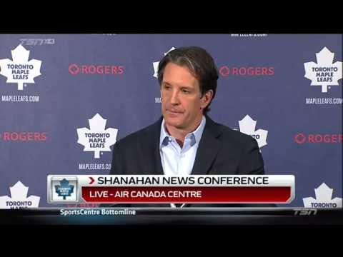 Brendan Shanahan's Press Conference. April 13th 2015. (HD)