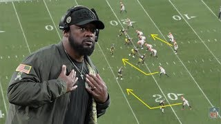 Film Study: Breaking down how Mike Tomlin is massively out-coaching his opponents