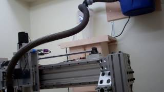 Cnc Dust Collection Using A Dust Deputy