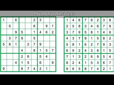 photograph about Chicago Tribune Daily Sudoku Printable titled Day by day Sudoku Alternatives - YouTube