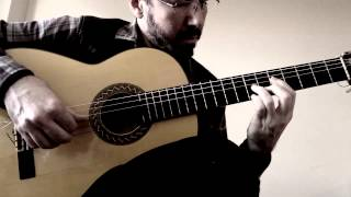 Flamenco Tremolo Exercise - 11 (Petenera by Paco Pena)