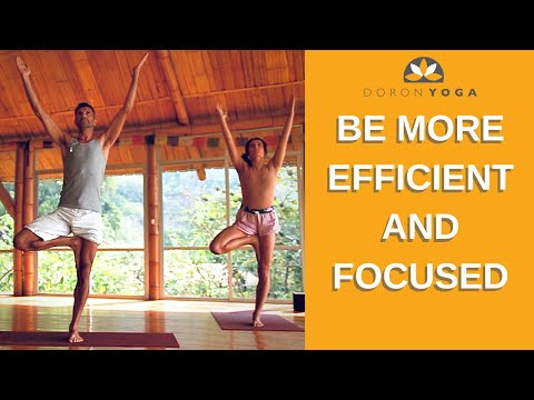 How To Improve Focus, Productivity and Body Fitness | Best Full Yoga Sequence To Practice at Home