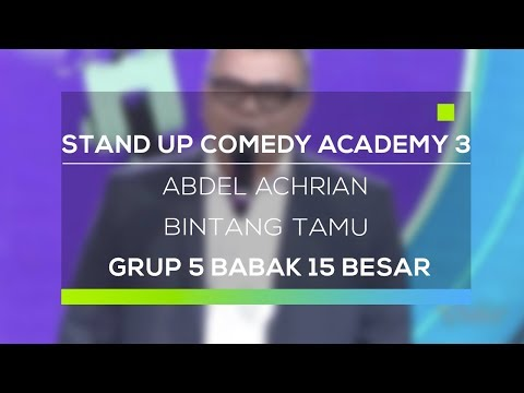 Stand Up Comedy Academy 3 : Abdel Achrian