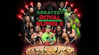 WWE- 50 man Greatest royal rumble match Saudi Arab/27 april