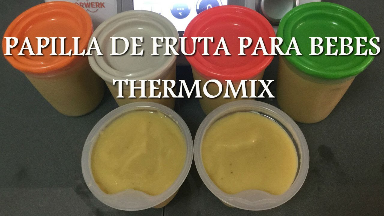 Pear Baby Food Thermomix