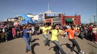 Chennai Super Kings - San Francisco Flash Mob