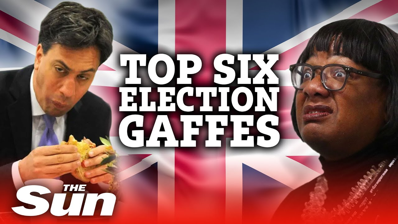 Top 6 election gaffes of all time