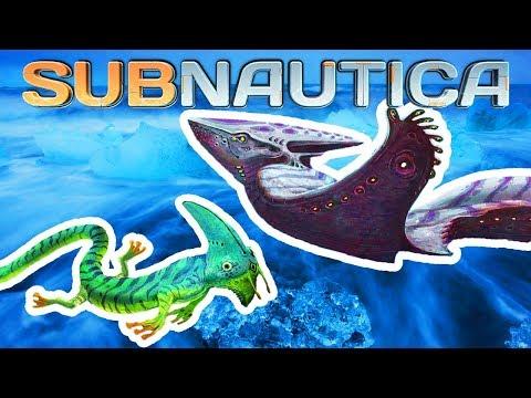 NEW ARCTIC BIOME CREATURE & NEW CONCEPT ARTS! (Scytheskull And More) | Subnautica