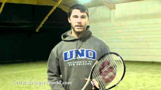 wilson blade lite blx tennis racket review by stringers world