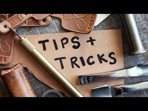 Sharing a TOP SECRET Leather Craft Trick (and more!)