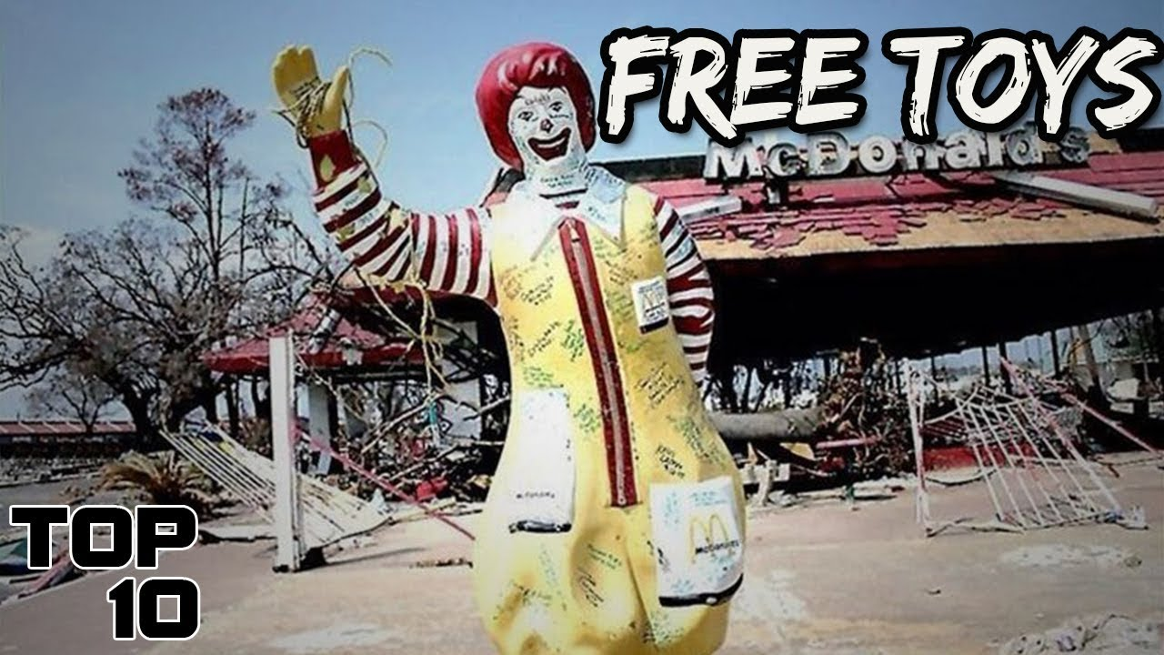 Download Top 10 Scariest McDonald's Happy Meal Toys