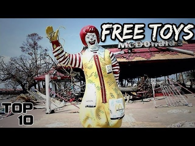 Top 10 Scariest McDonalds Happy Meal Toys