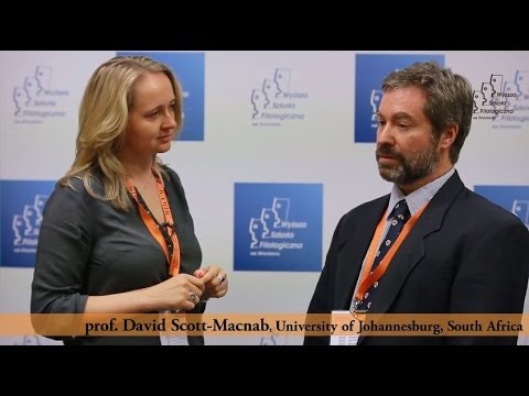 prof. David Scott-Macnab, University of Johannesburg, South Africa