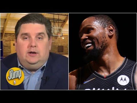 Brian Windhorst reacts to Kevin Durant's 'perfect' return to Nets | The Jump