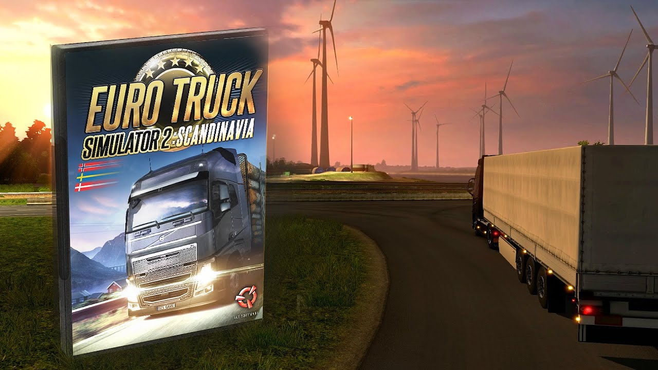 euro truck simulator 2 scandinavia teaser youtube. Black Bedroom Furniture Sets. Home Design Ideas