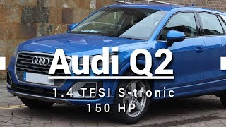 Новый Ауди Ку 2 2018 1.4 TFSI 150 ЛС / New Audi Q2 2018 1.4 TFSI S-tronic 150 HP