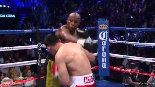 Mayweather vs Guerrero Highlights - Believe In Ghosts ? HD