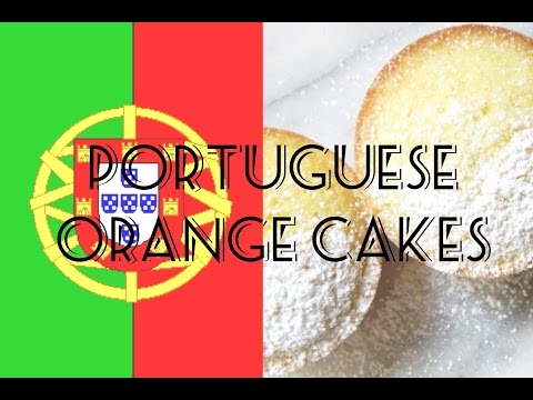 Portuguese Orange Cakes