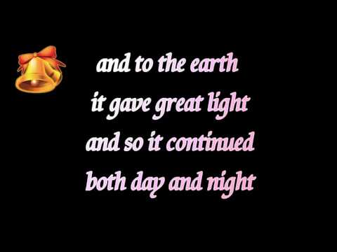 The first noel instrumental music - Christmas song lyrics karaoke - violin music guitar