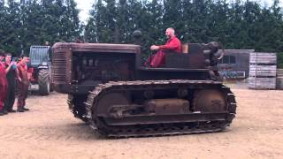 International Harvester TD18 out under its own power for the first time in  20 years!
