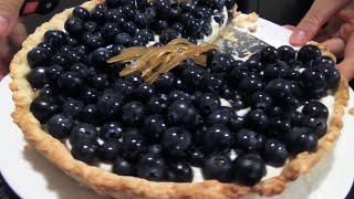BLUEBERRY AND MASCARPONE CHEESE TART RECIPE