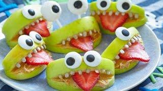 Halloween food decorations/Как украсить блюда на Хэллоуин