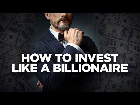 How to invest Like a Billionaire - The Cardone Zone