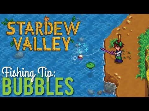 Magic Bubbles & Fishing in Stardew Valley