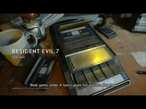 Resident Evil 7: How to Unlock Special Items