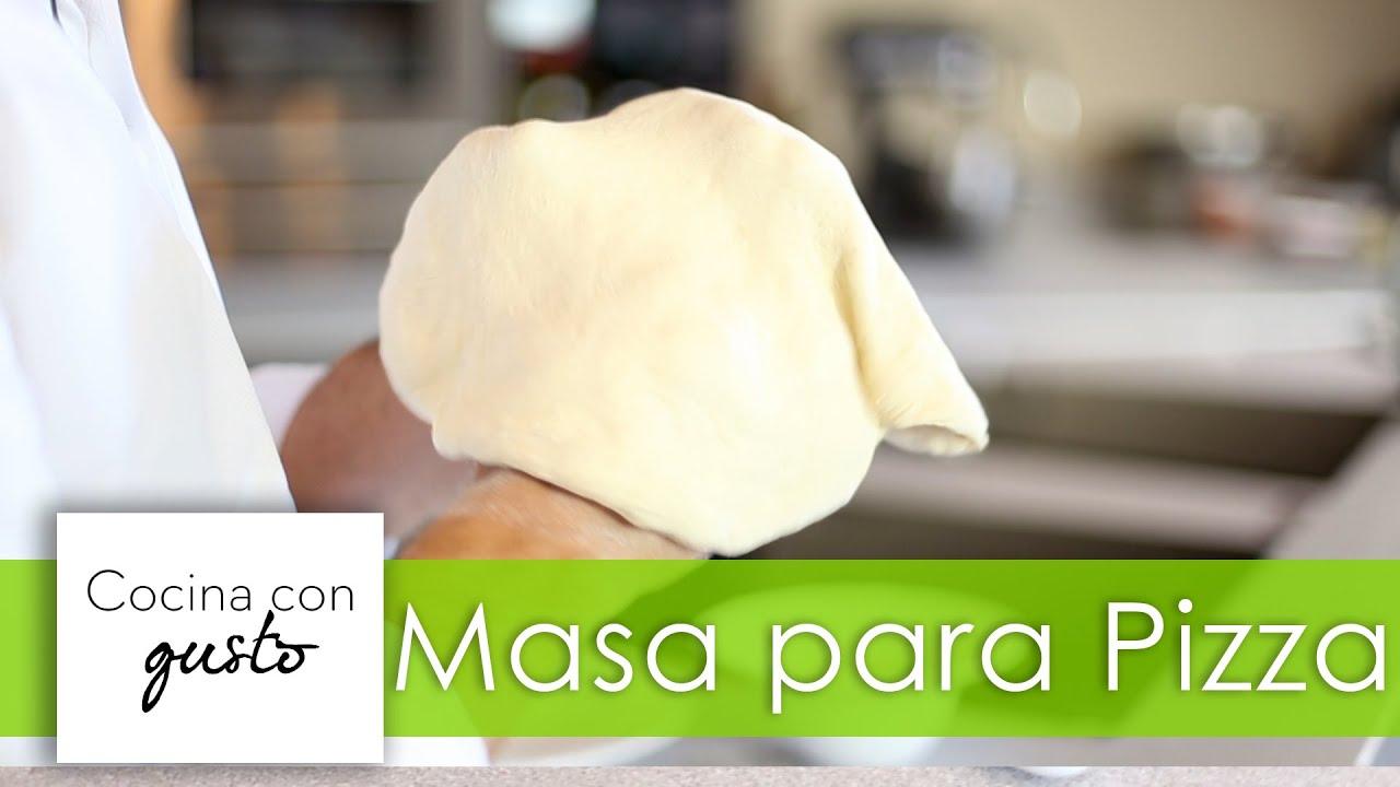 La Auténtica Masa de Pizza Italiana por Mario Sandoval - YouTube