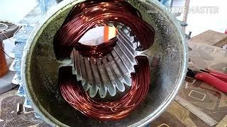 Full Rewinding Crompton 1HP की वान्डिंग कैसे करे इस वीडियो में देखे