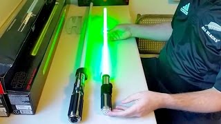 Star Wars The Black Series Force FX Lightsabers Review (Luke Skywalker, Yoda, Vader, & Kylo Ren)